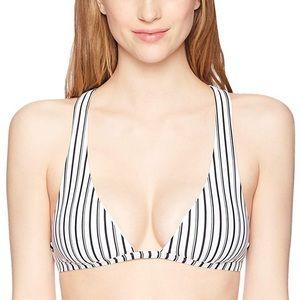 O'NEILL Women's Highway Stripe Hi-Neck Bikini Top